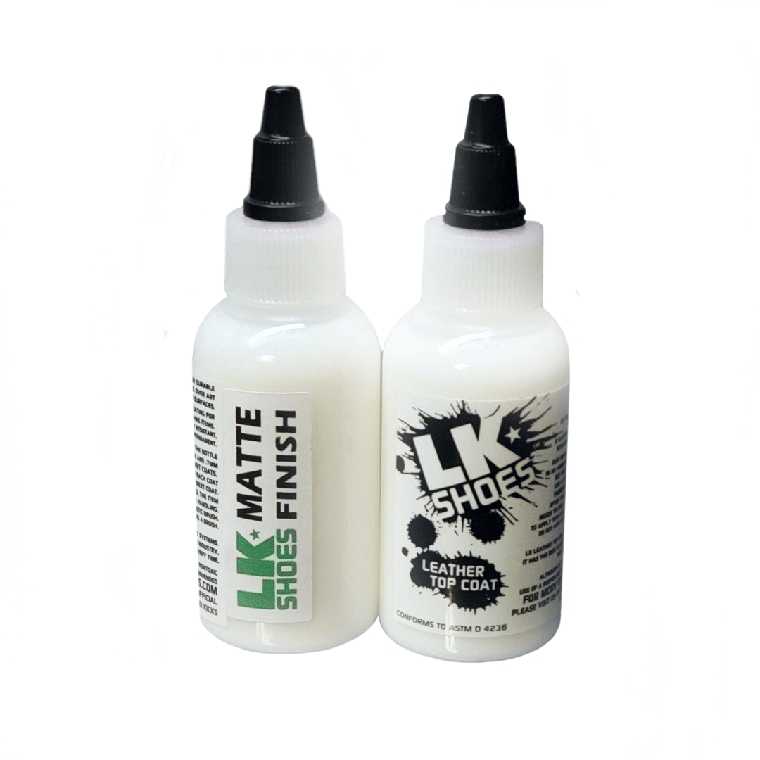 Matte Finisher Leather Sealer by Liquid Kicks Shoes