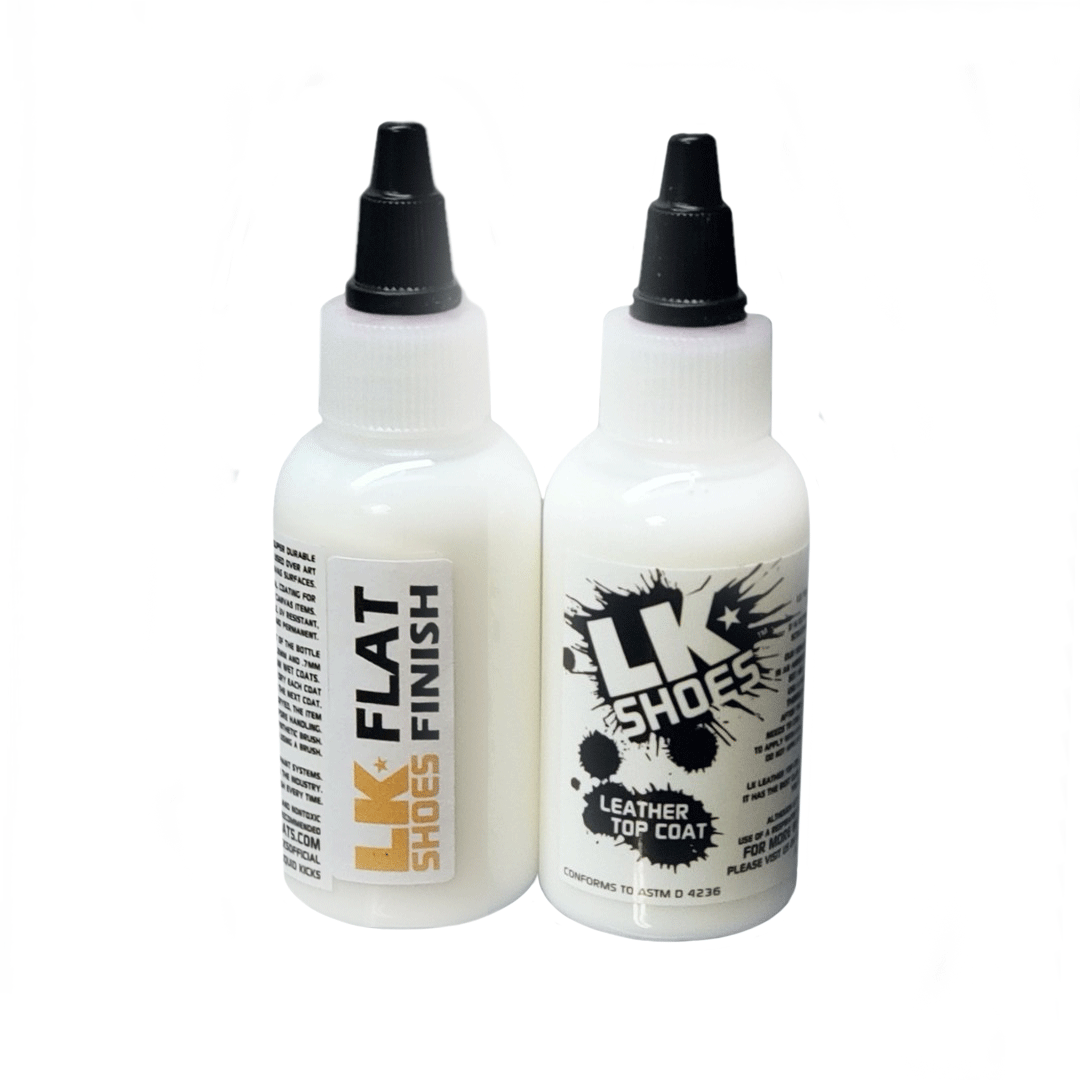 Flat Finish Leather Sealer Liquid Kicks Shoes