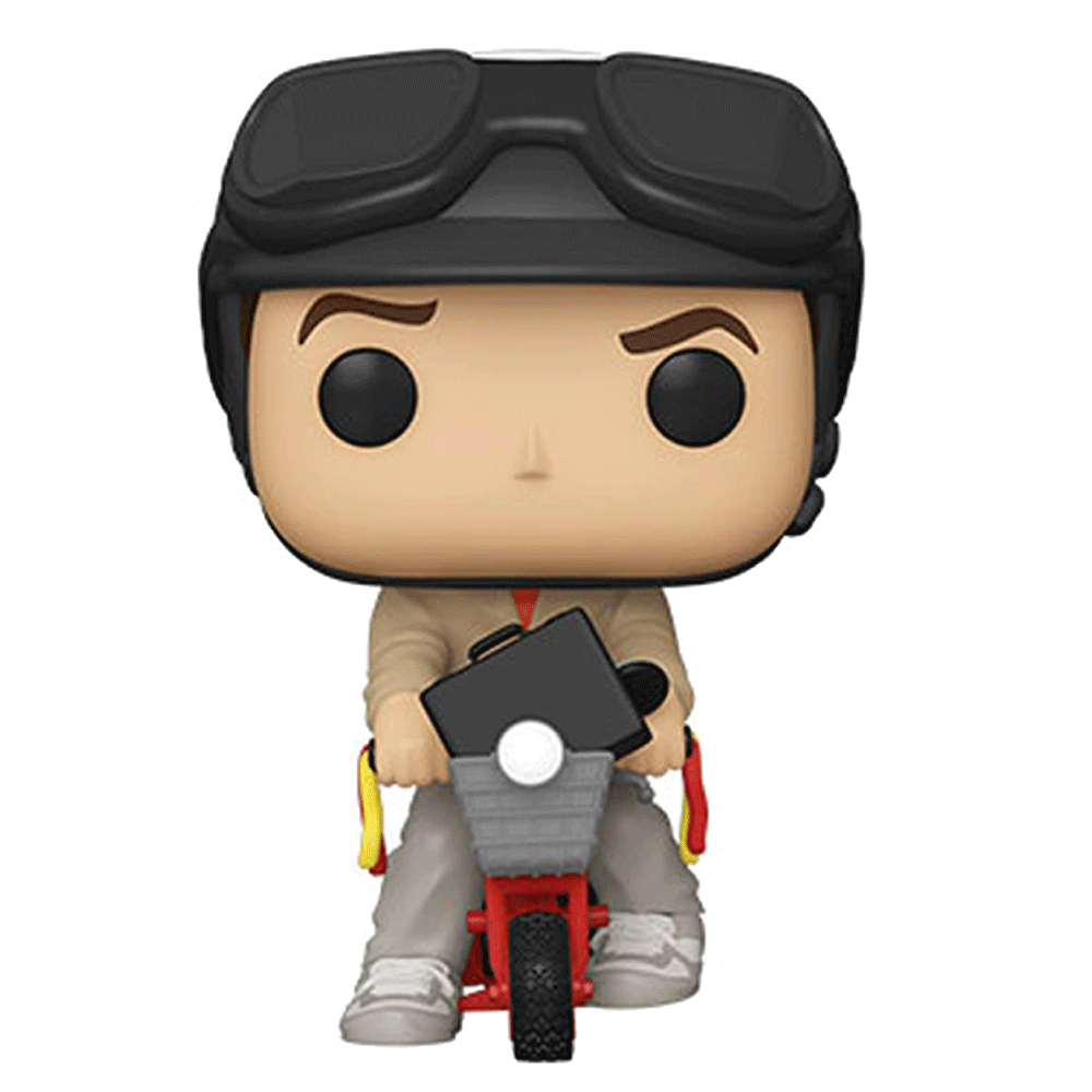 Lloyd Christmas on Bicycle - Dumb and Dumber FUNKO POP #95