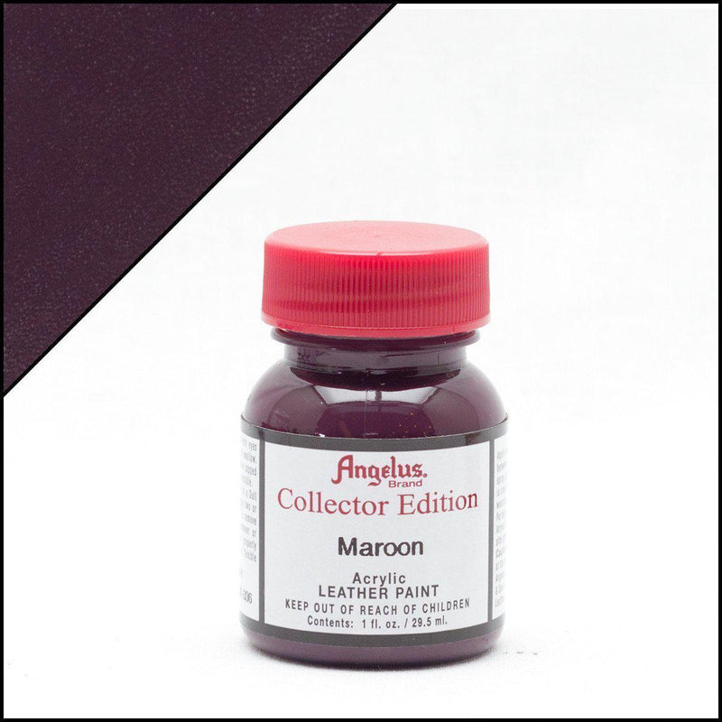 Maroon-Angelus-Collectors Leather Paint-TorontoCollective