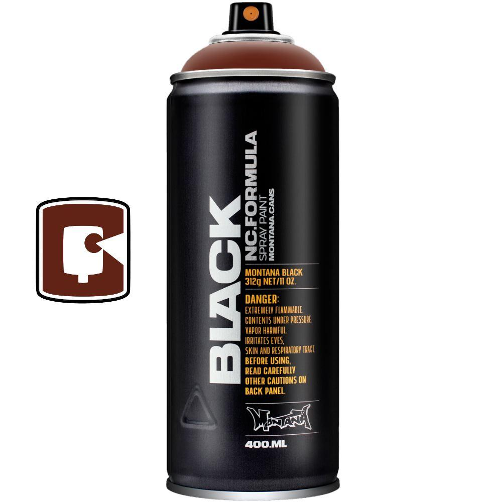 Maroon-Montana Black-400ML Spray Paint-TorontoCollective