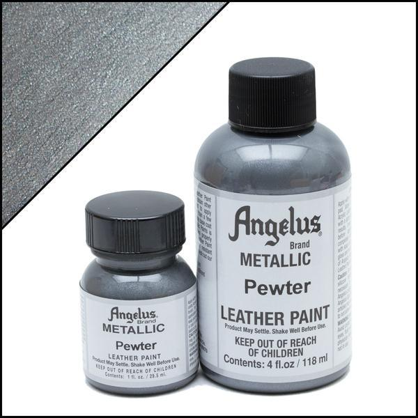 Metallic Pewter-Angelus-Leather Paint-TorontoCollective