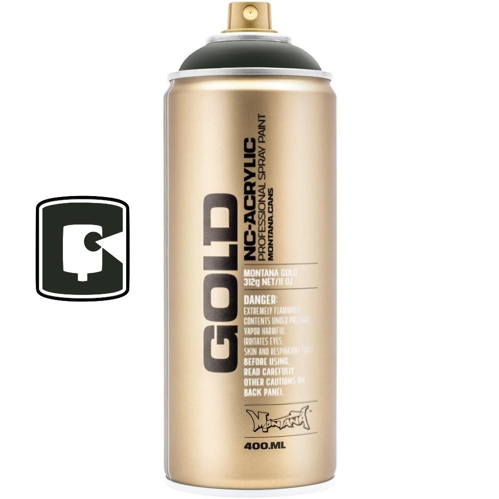 Military Green-Montana Gold-400ML Spray Paint-TorontoCollective