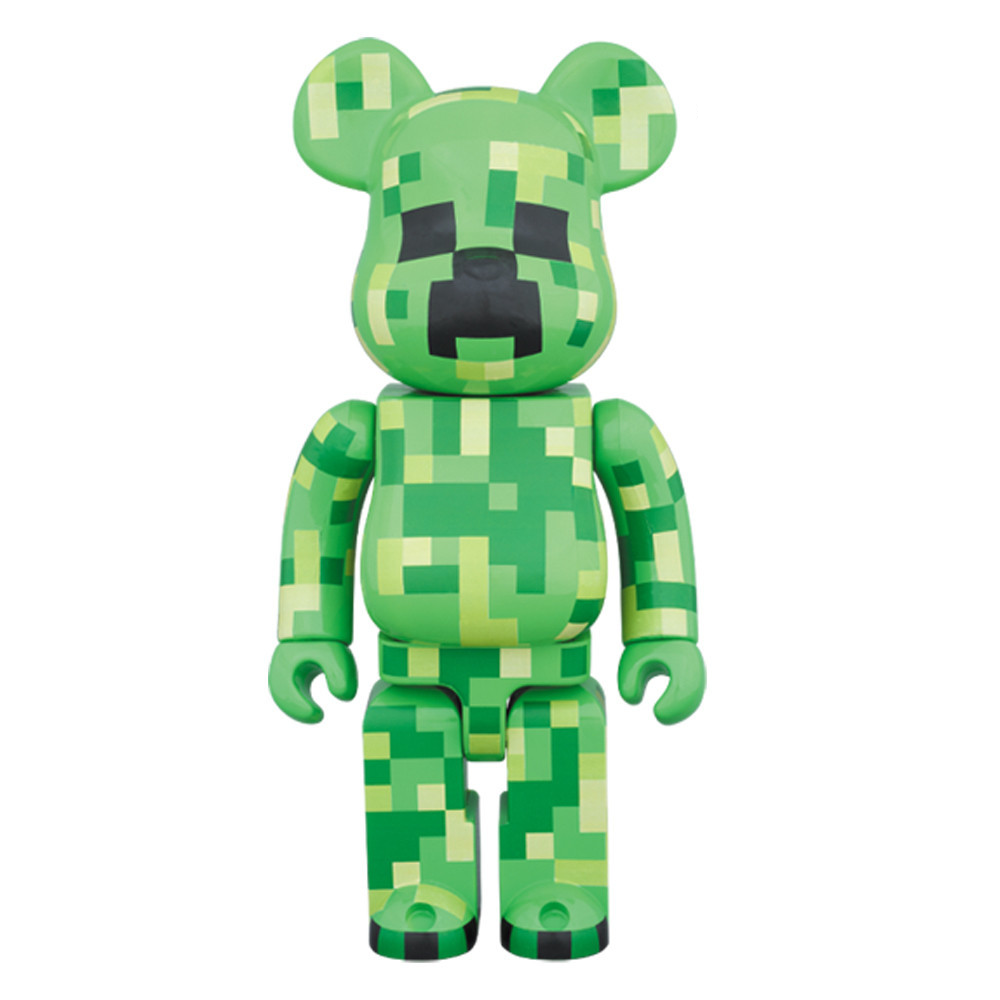 Minecraft-Bearbrick-400%-TorontoCollective