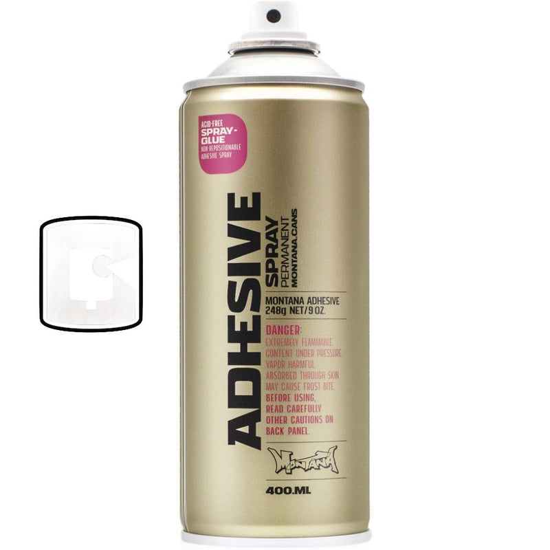 Montana Adhesive Permanent / Spray Glue-Montana Tech-400ML Spray Can-TorontoCollective