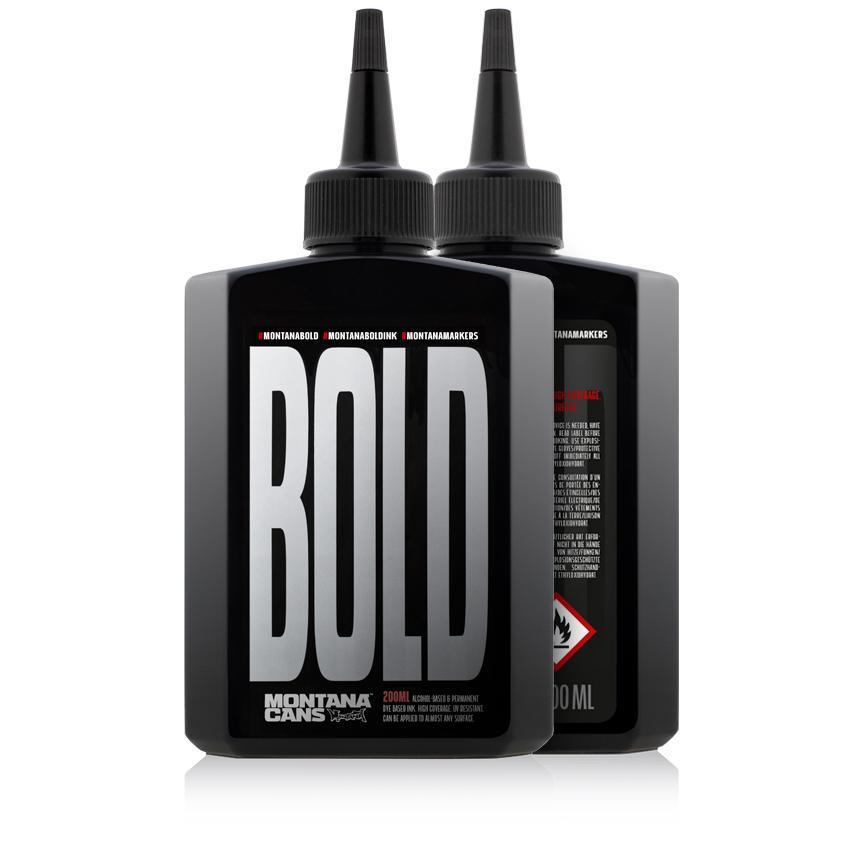 MONTANA BOLD REFILL 200ML PERMANENT ULTRA INK-Montana Ink-TorontoCollective