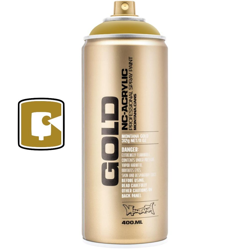 Mustard-Montana Gold-400ML Spray Paint-TorontoCollective