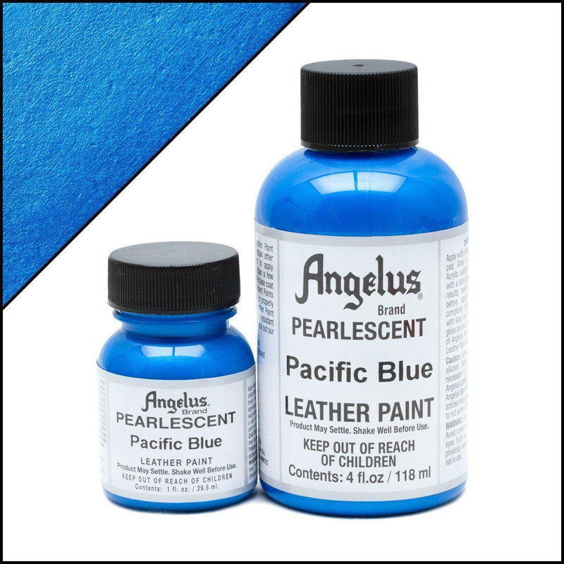 Pacific Blue-Angelus-Pearlescent Leather Paint-TorontoCollective