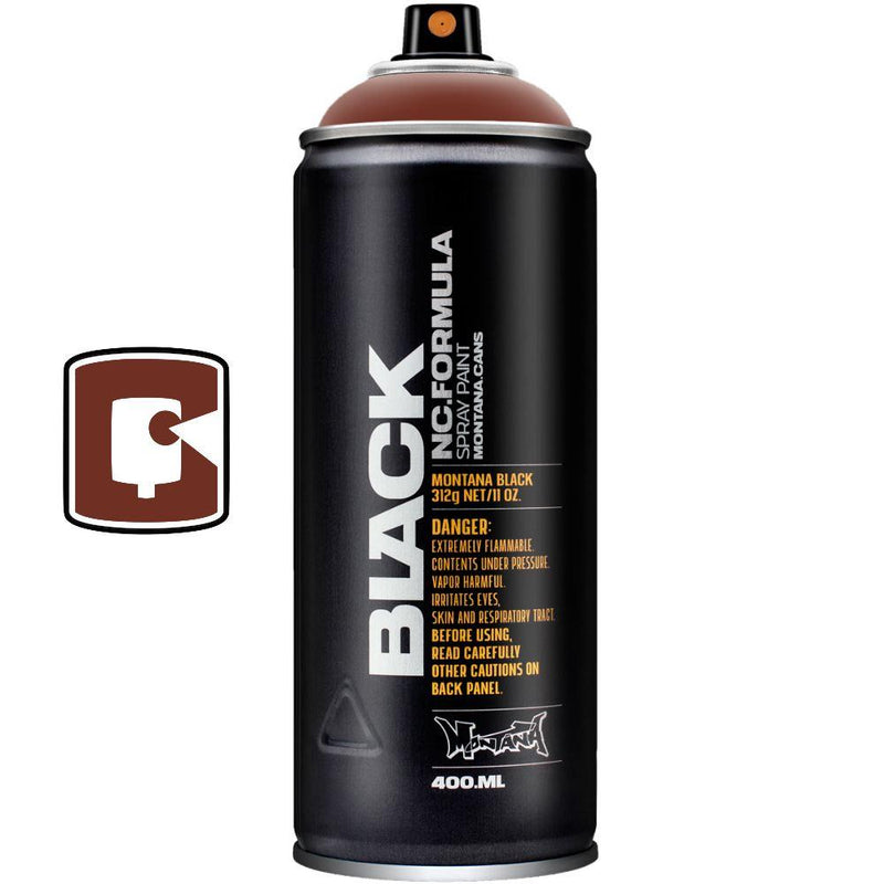Pecan Nut-Montana Black-400ML Spray Paint-TorontoCollective
