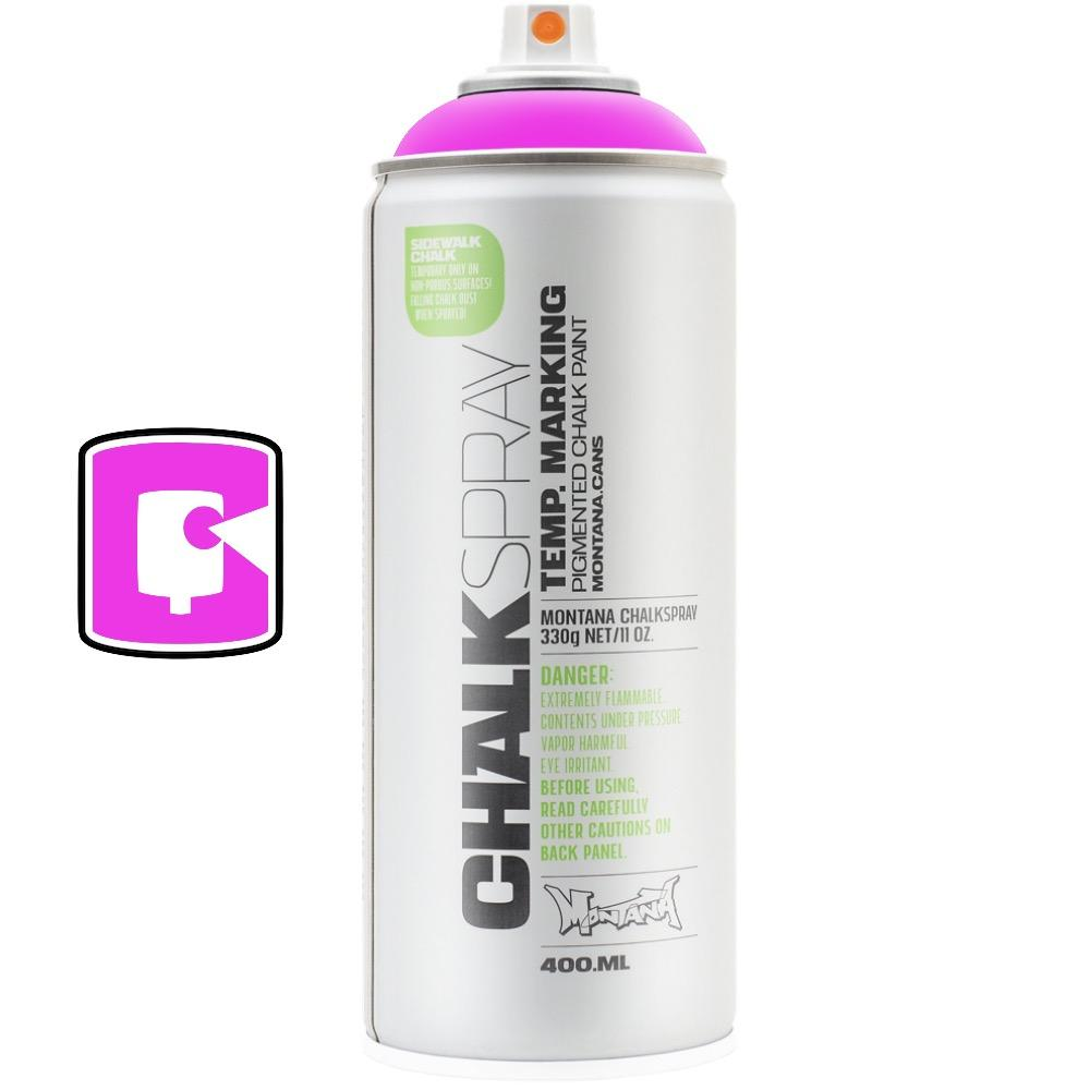 Pink-Montana Chalk-400ML Spray Paint-TorontoCollective