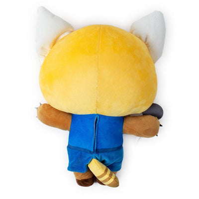 AGGRETSUKO RAGE HUGME SHAKE ACTION VIBRATING PLUSH BY KIDROBOT X SANRIO