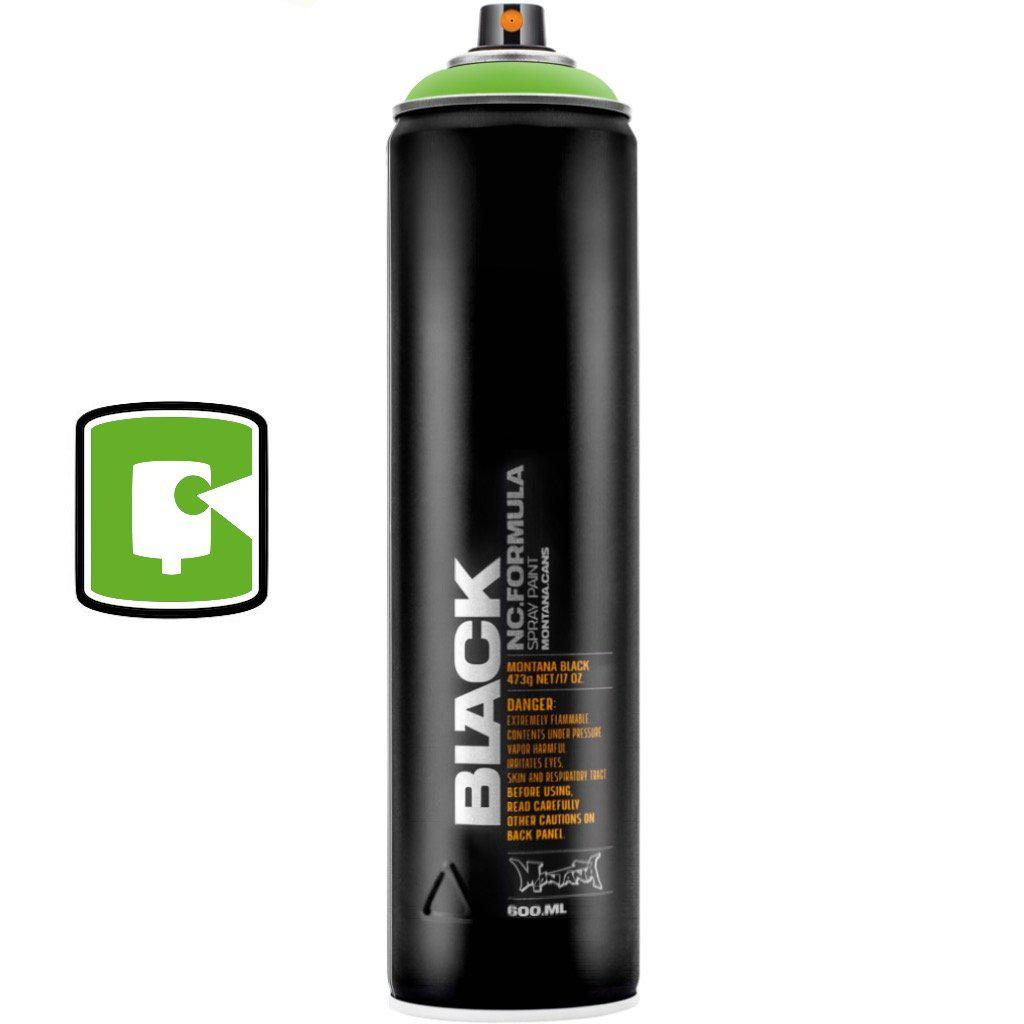 Power Green-Montana Black Extended-400ML Spray Paint-TorontoCollective