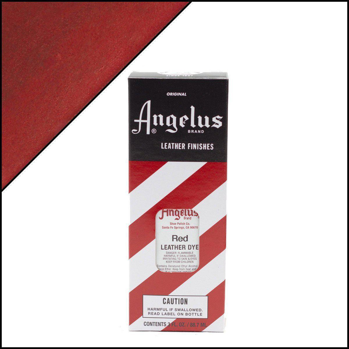 Red-Angelus-Leather Dye-TorontoCollective