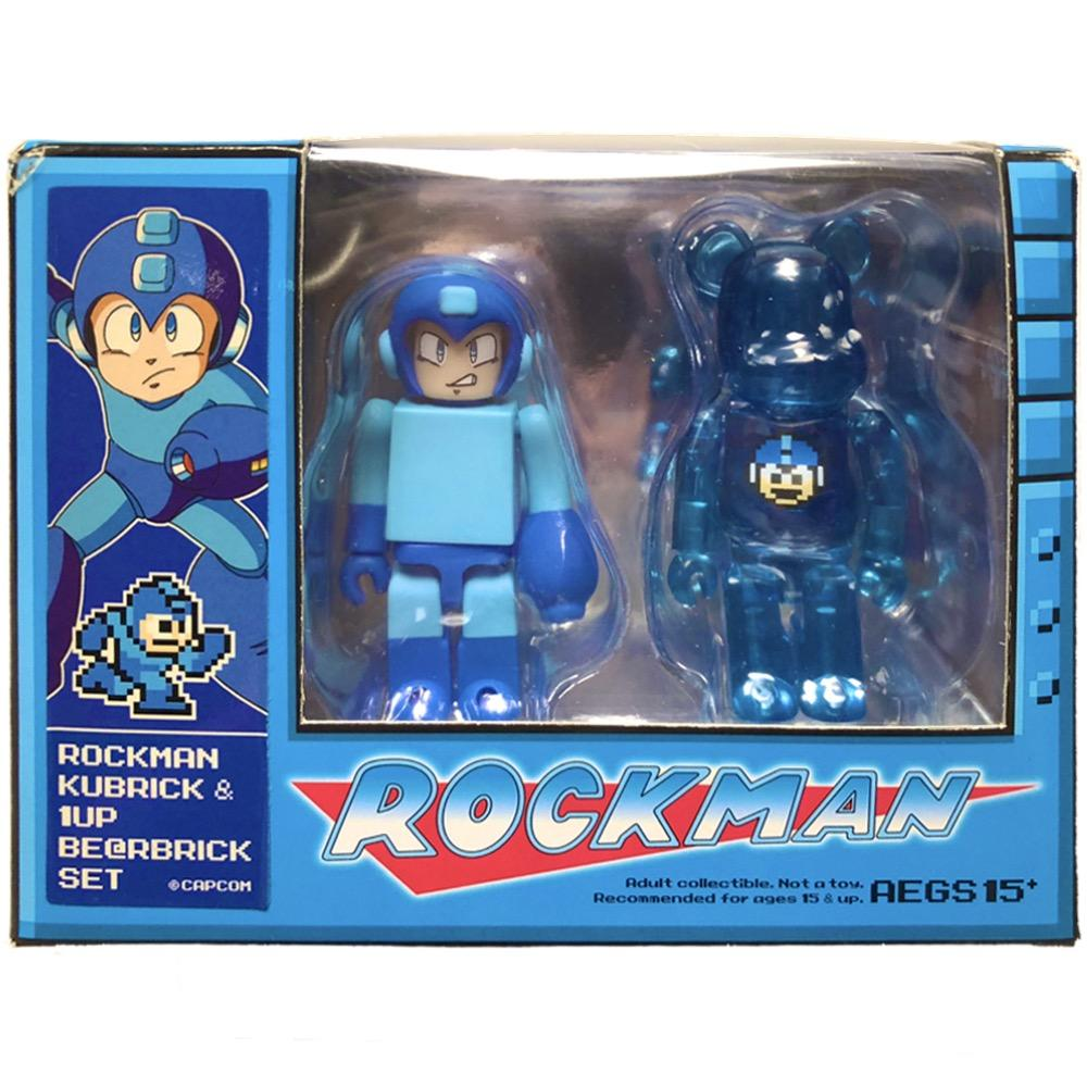 Rockma n & 1UP Set-Bearbrick-100%-TorontoCollective