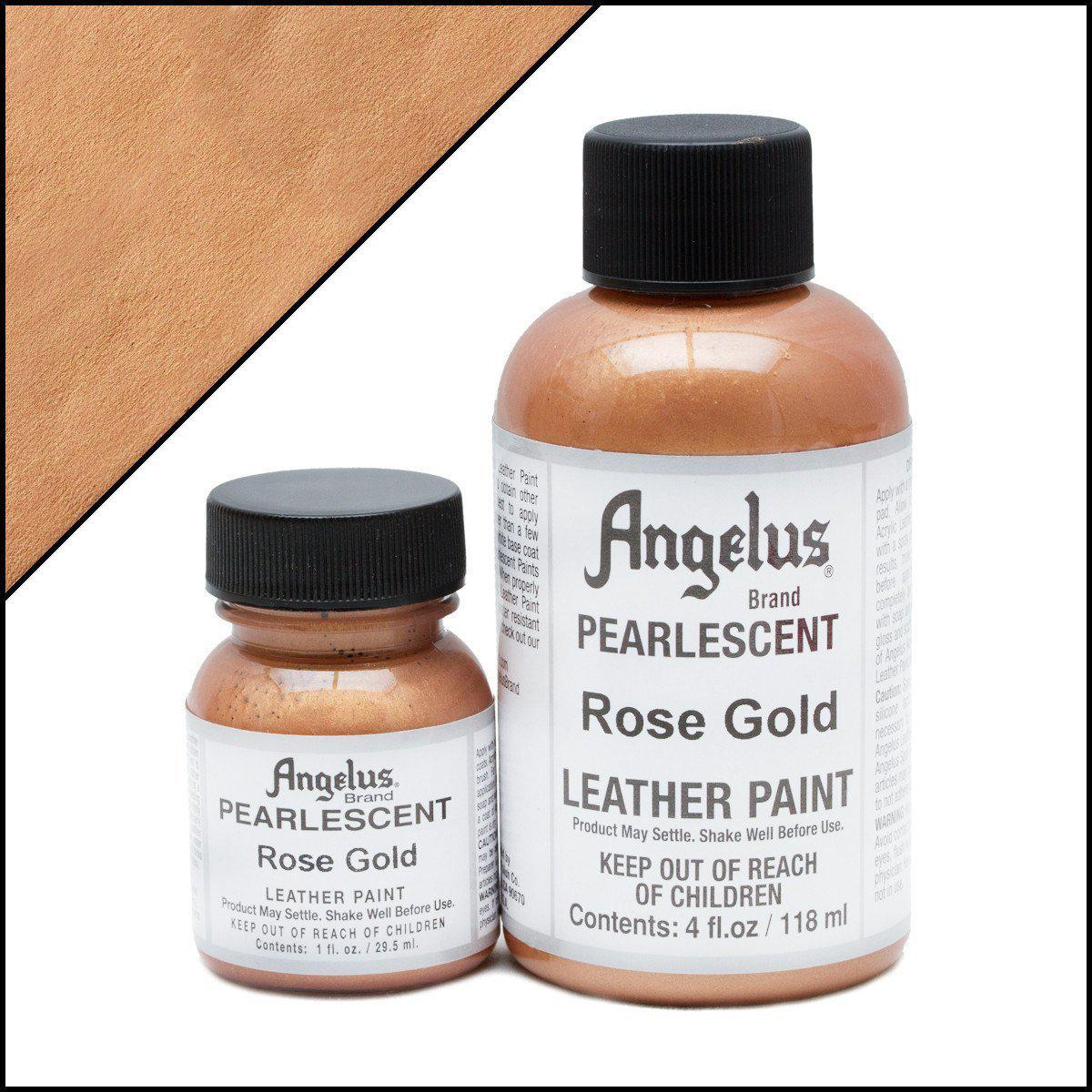 Rose Gold-Angelus-Pearlescent Leather Paint-TorontoCollective