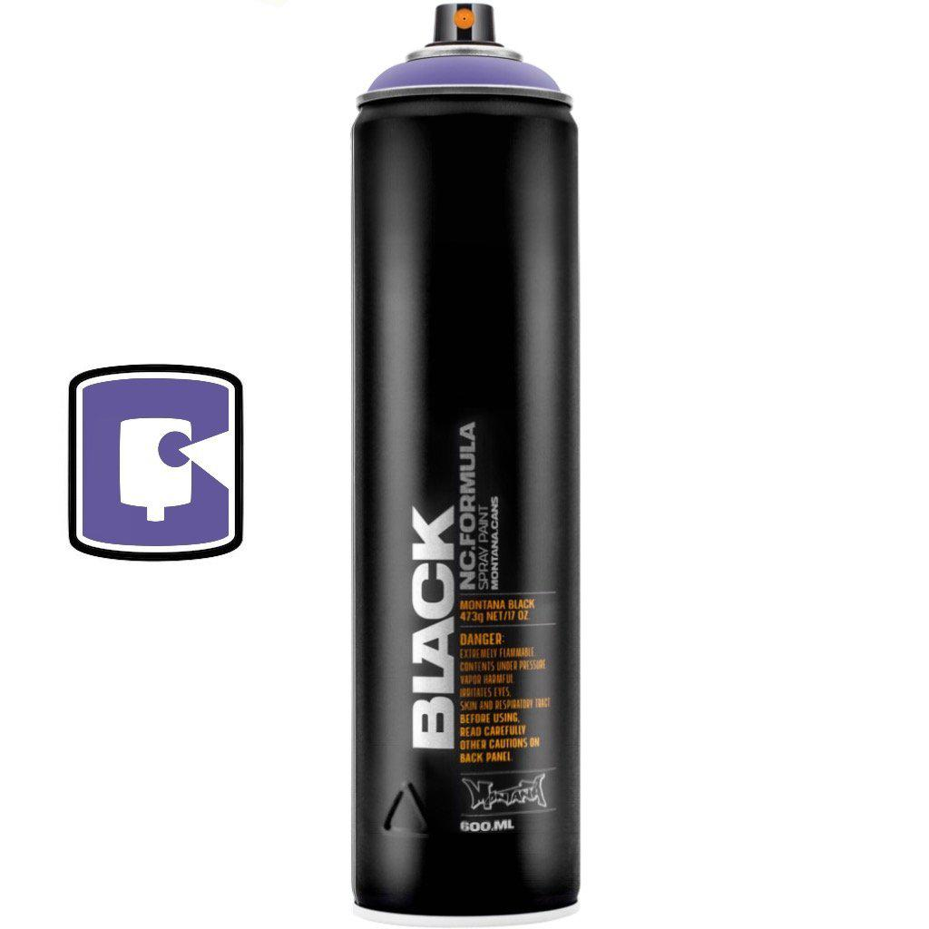 Royal Purple-Montana Black Extended-600ML Spray Paint-TorontoCollective