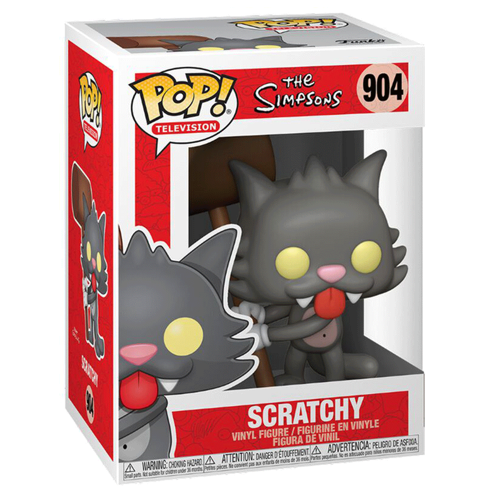 The Simpsons Scratchy FUNKO POP #904