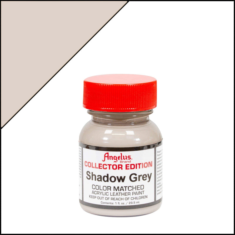 Shadow Grey Angelus Collectors Leather Paint