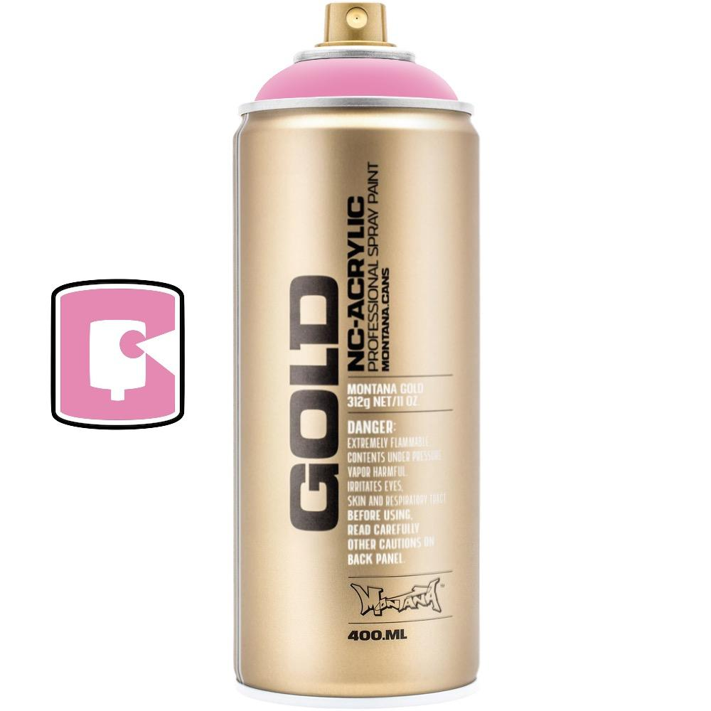 Shock Pink Light-Montana Gold-400ML Spray Paint-TorontoCollective