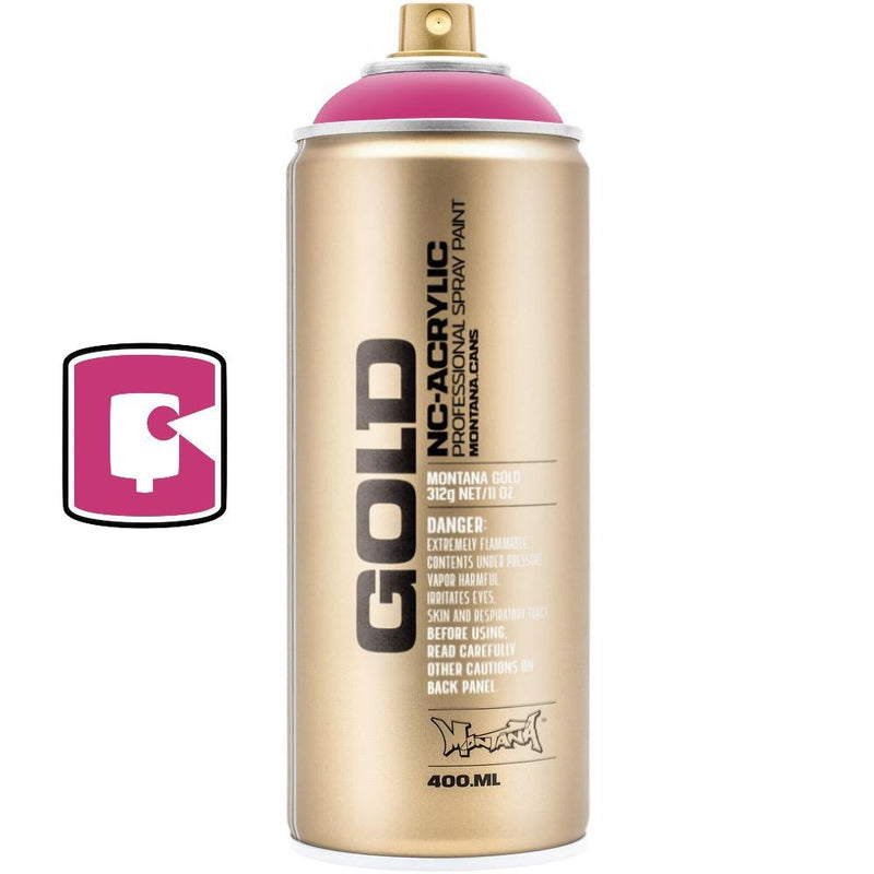 Shock Pink-Montana Gold-400ML Spray Paint-TorontoCollective