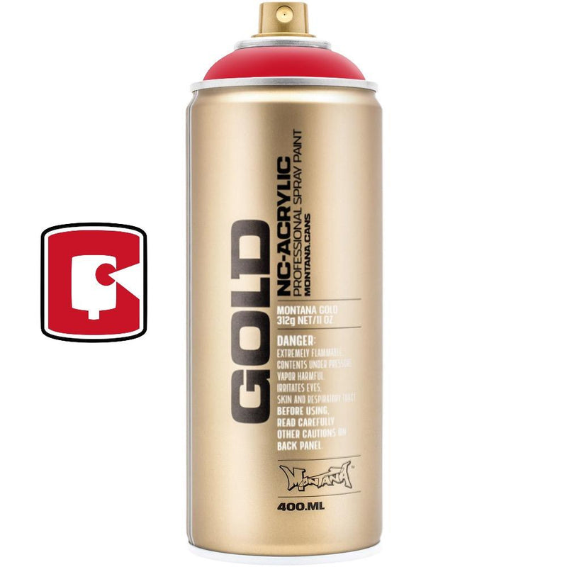 Shock Red-Montana Gold-400ML Spray Paint-TorontoCollective