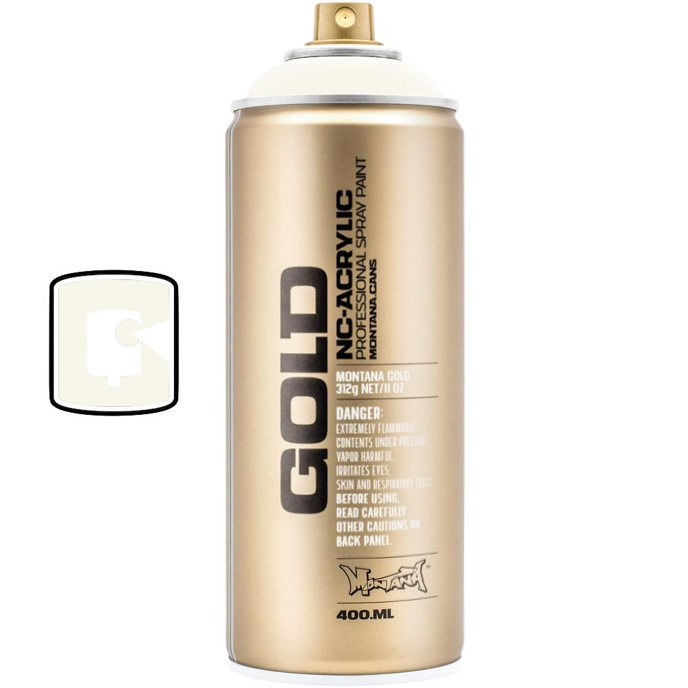 Shock White Cream-Montana Gold-400ML Spray Paint-TorontoCollective