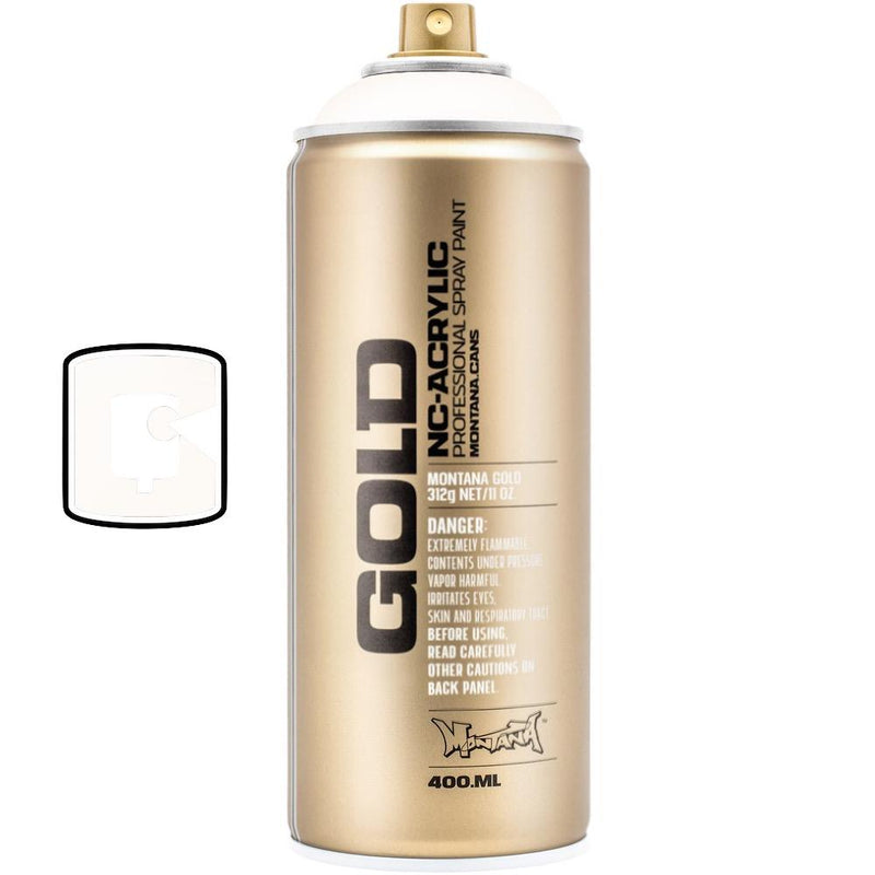 Shock White-Montana Gold-400ML Spray Paint-TorontoCollective