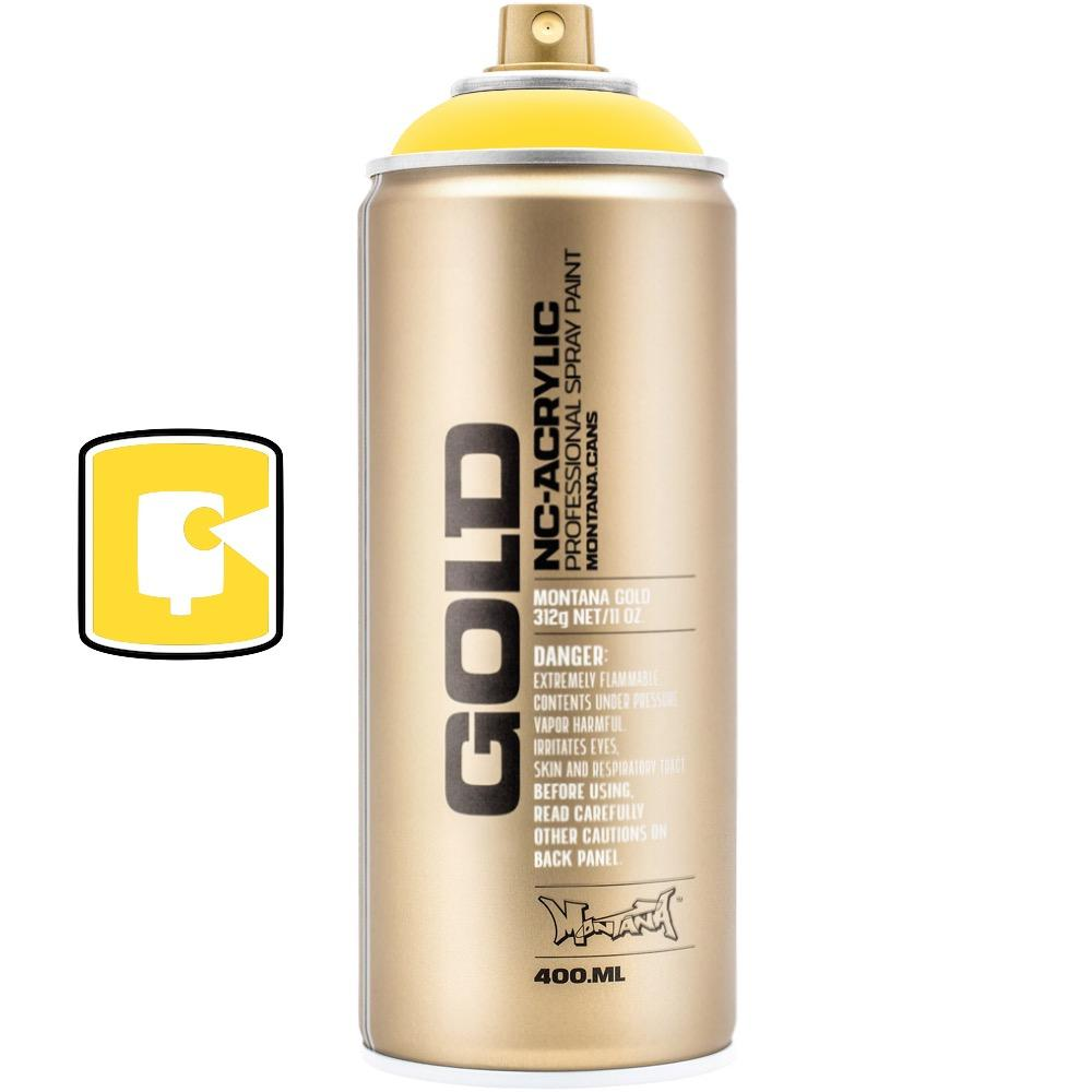 Shock Yellow Light-Montana Gold-400ML Spray Paint-TorontoCollective