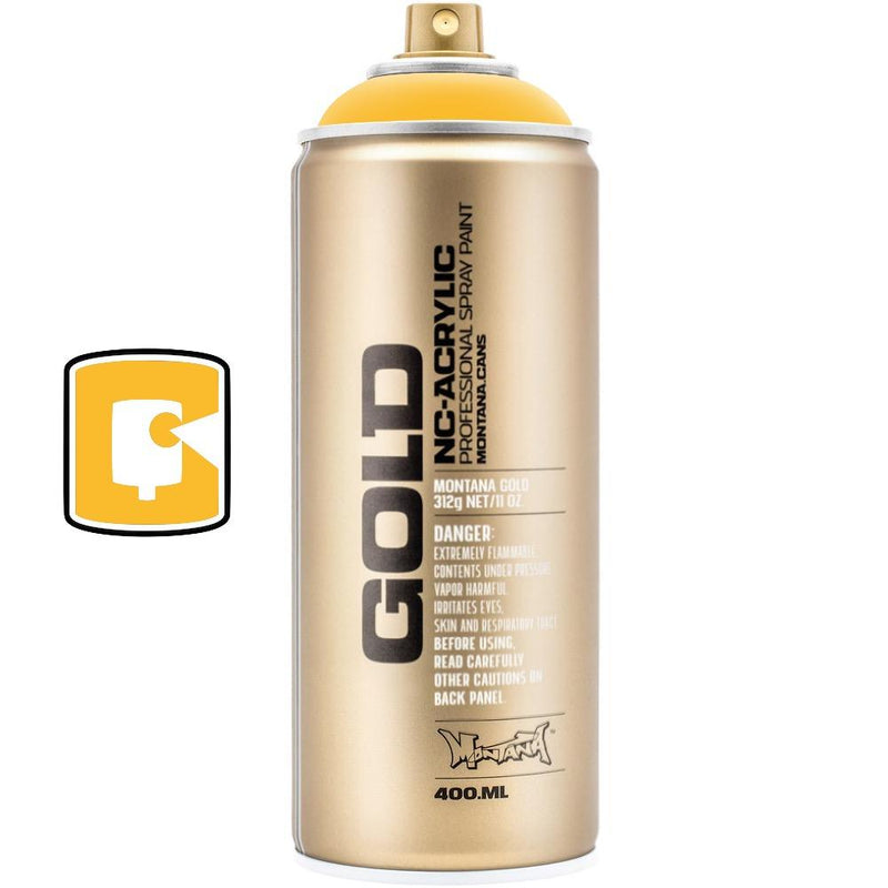 Shock Yellow-Montana Gold-400ML Spray Paint-TorontoCollective