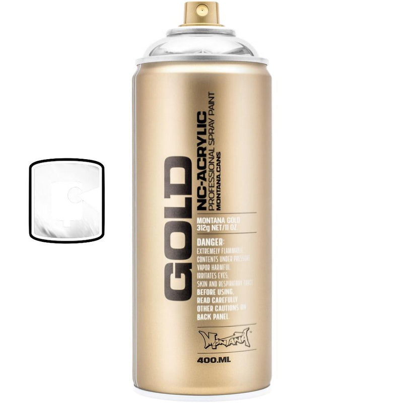 Silverchrome-Montana Gold Chrome-400ML Spray Paint-TorontoCollective