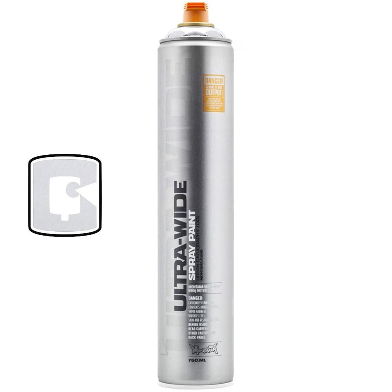 Silverchrome-Montana Ultra-Wide-750ML Spray Paint-TorontoCollective