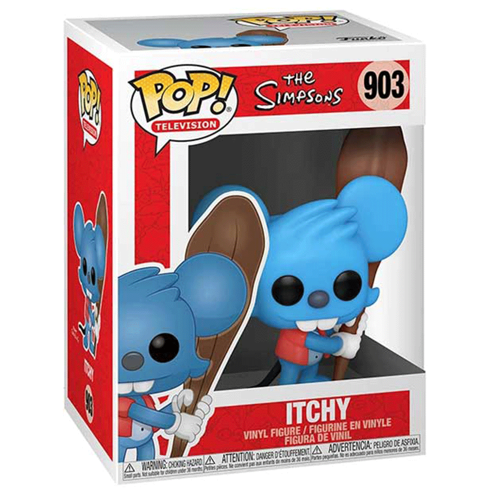 The Simpsons Itchy FUNKO POP #903