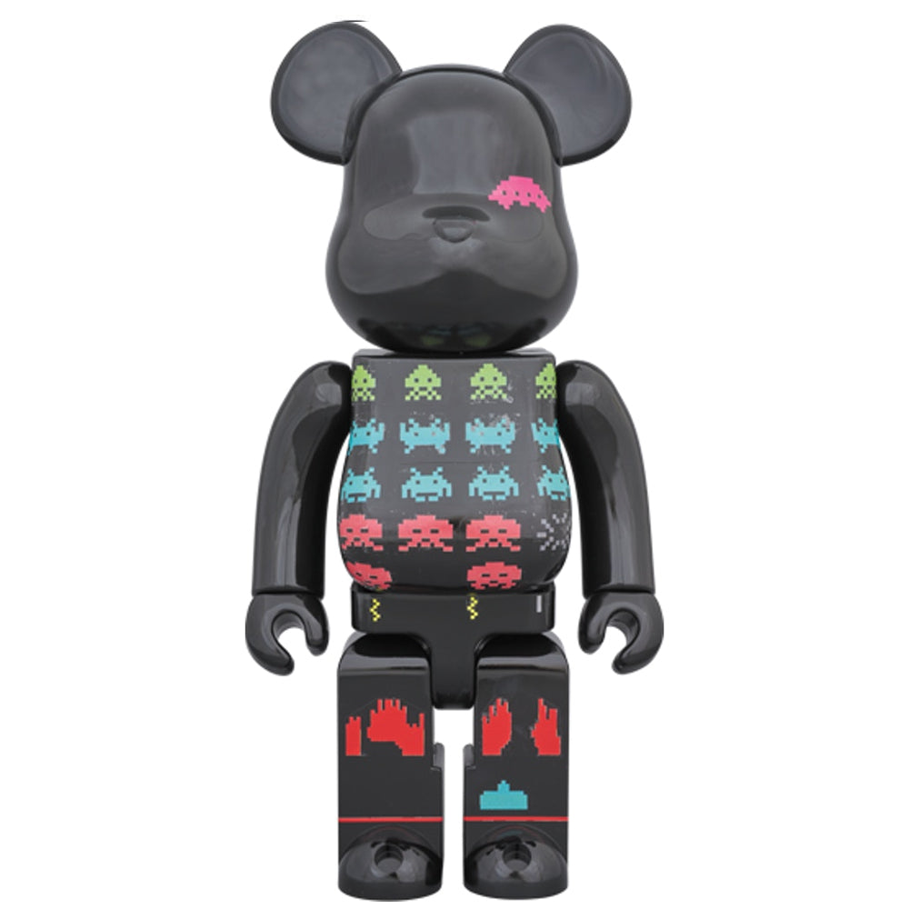 SPACE INVADERS 400% Bearbrick by Medicom Toy