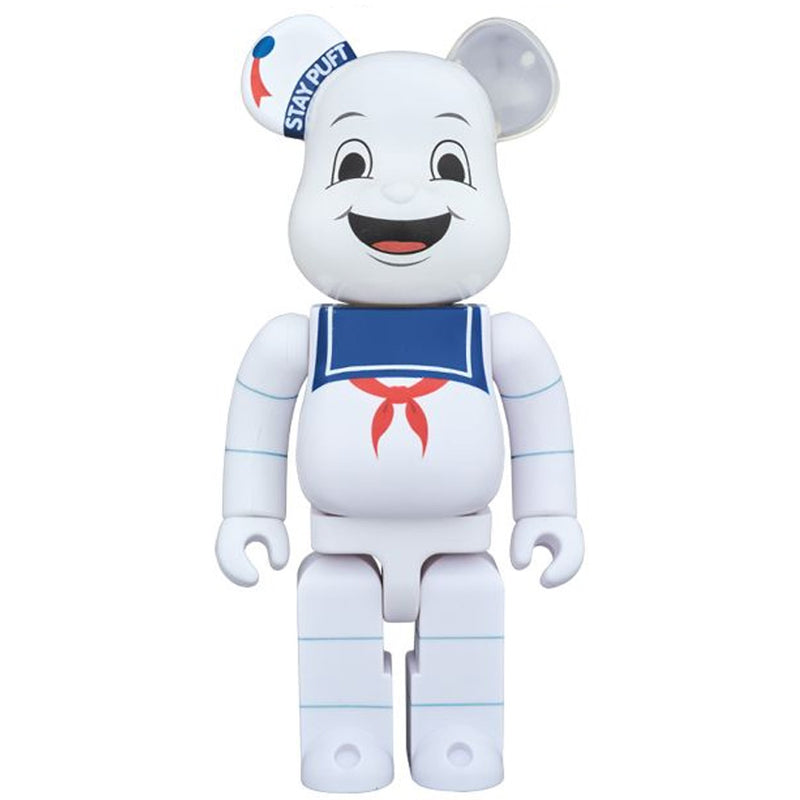 Stay Put Marshmellow Man Ghostbusters 1000% Bearbrick by Medicom Toy