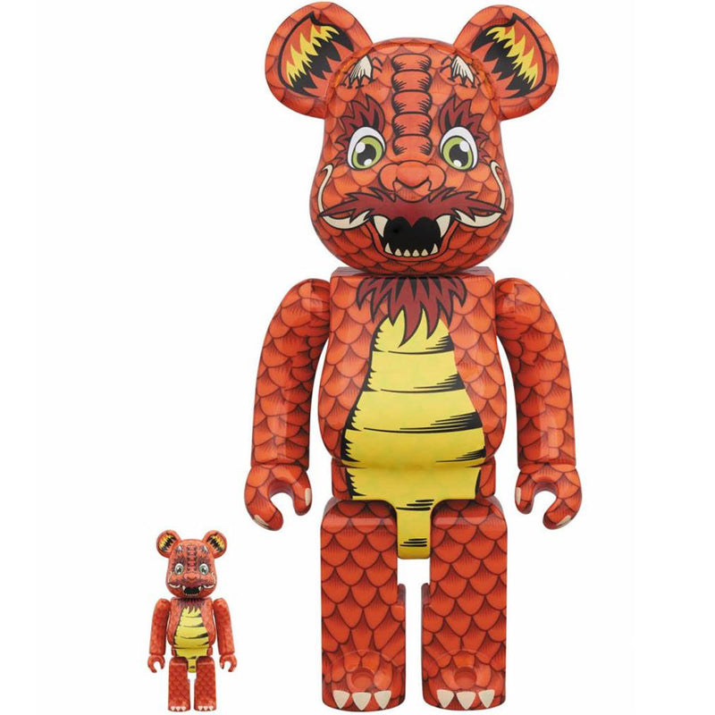 Steve Caballero 100% + 400% Bearbrick by Medicom Toy