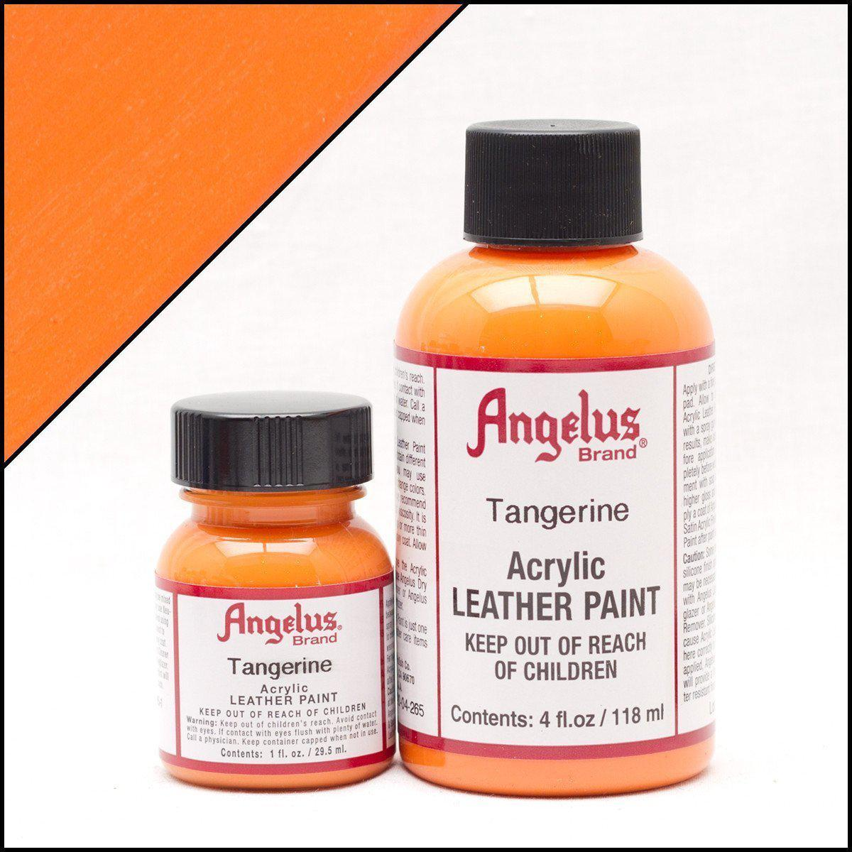 Tangerine-Angelus-Leather Paint-TorontoCollective