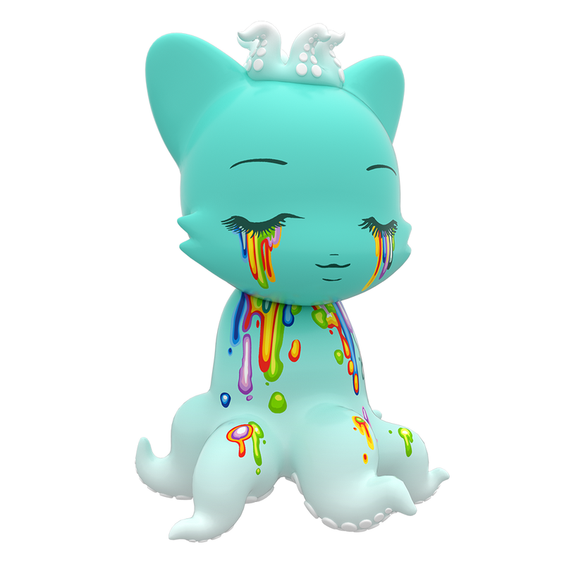 Tenaclanky Tears by Camilla D'erico x Tentacle Kitty 2/24-Superplastic-Janky-TorontoCollective