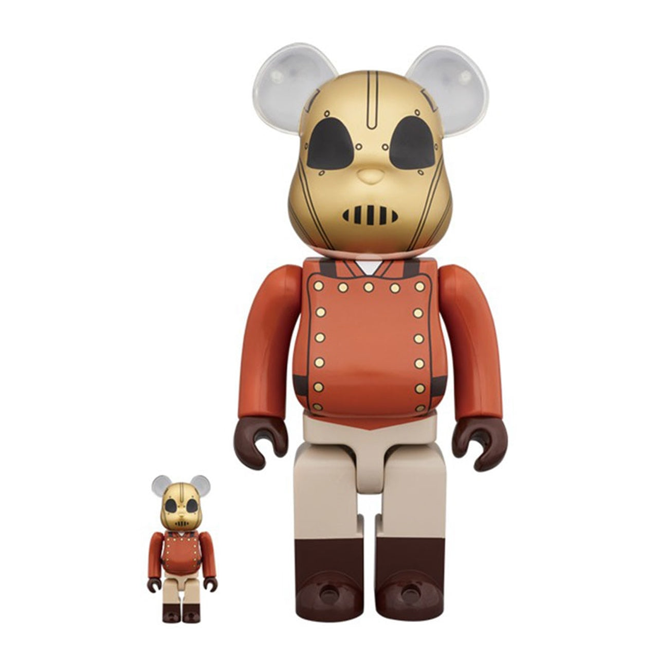 The Rocketeer 100% & 400% BEARBRICK SET by Medicom Toy
