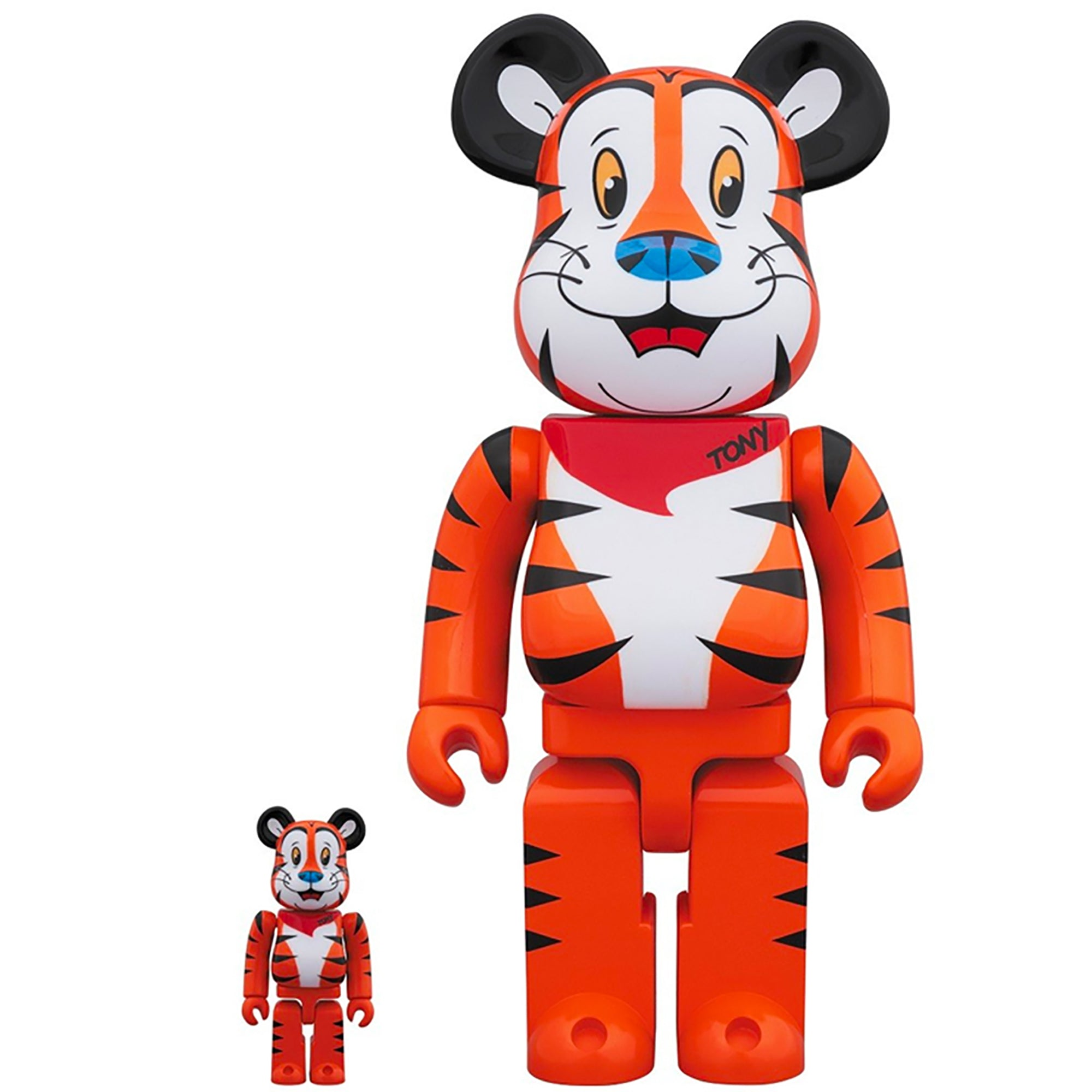 Corn Frosties Tony The Tiger 100% * 400% Bearbrick Set