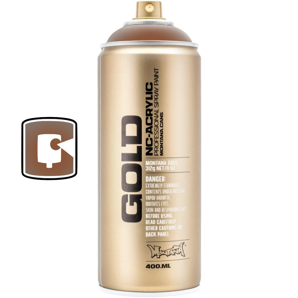 Transparent Hazelnut-Montana Gold Transparent-400ML Spray Paint-TorontoCollective