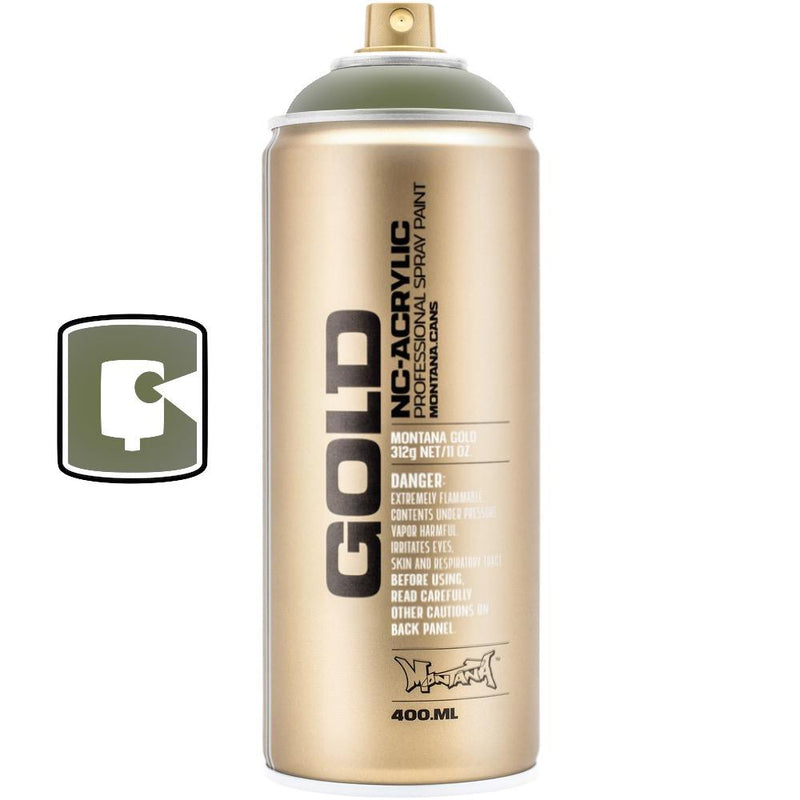 Transparent Olive Green-Montana Gold Transparent-400ML Spray Paint-TorontoCollective