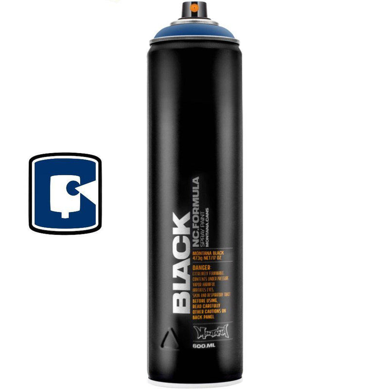 Ultramarine-Montana Black Extended-400ML Spray Paint-TorontoCollective