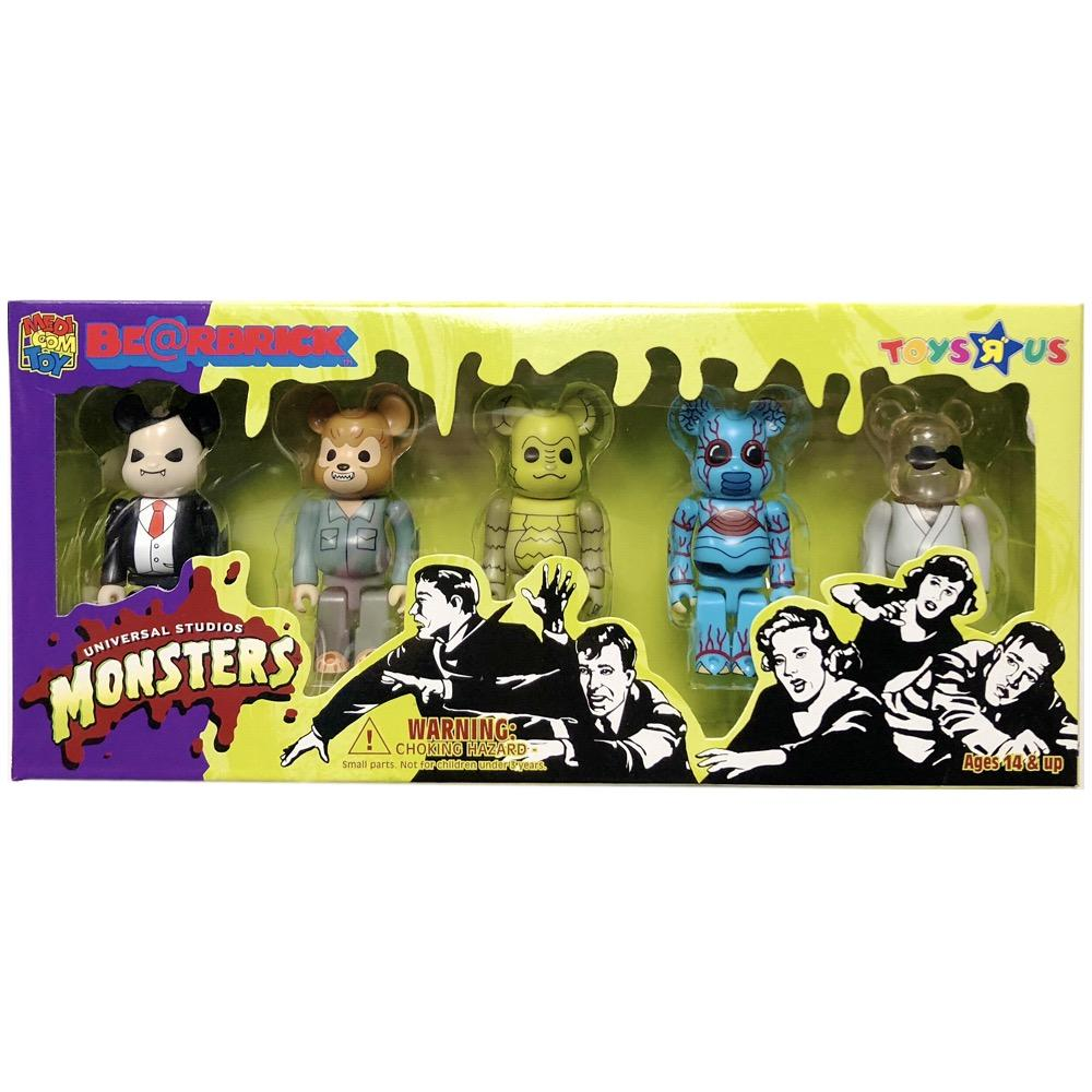 Universal Studios Monsters 100% Set-HeistBearbrick-100%-TorontoCollective