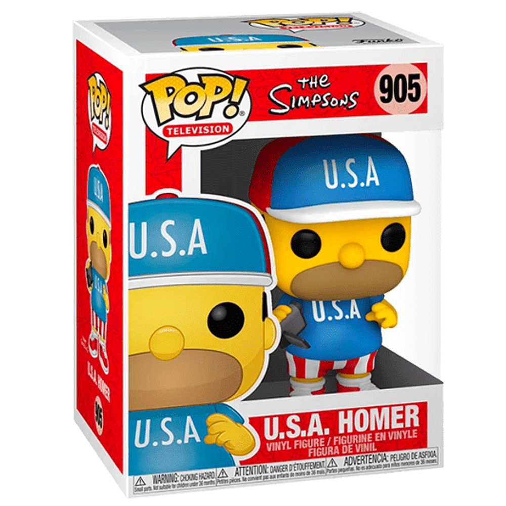 The Simpsons Homer USA FUNKO POP #905