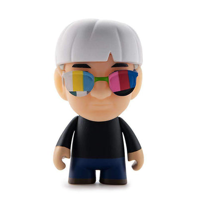MANY FACES OF ANDY WARHOL MINI FIGURE SERIES BY KIDROBOT