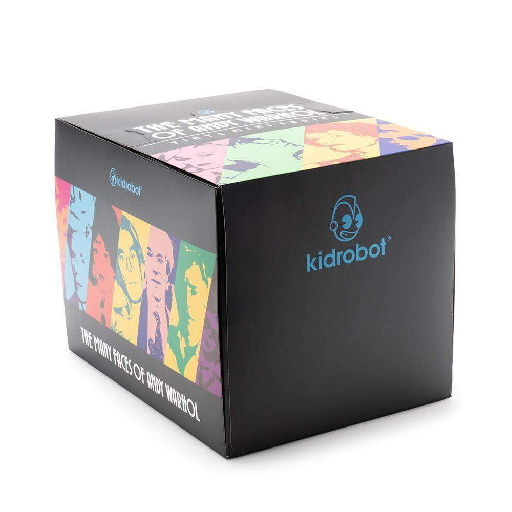 Kidrobot Many Faces Of Andy Warhol Blind Box Mini Figure NEW 1 Full Case of 24