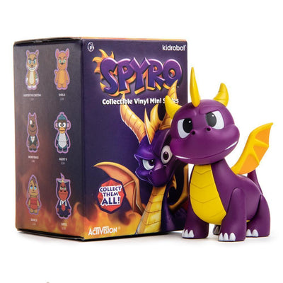 SPYRO THE DRAGON MINI FIGURE SERIES BY KIDROBOT