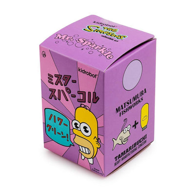 "THE SIMPSONS MR. SPARKLE 3"" FIGURE by Kidrobot"