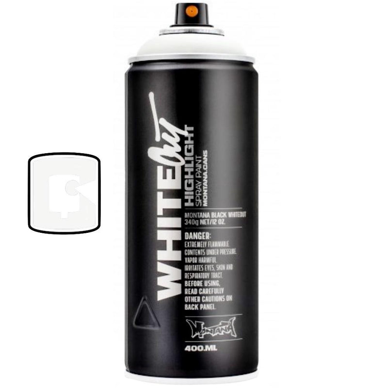 Whiteout-Montana Black-400ML Spray Paint-TorontoCollective
