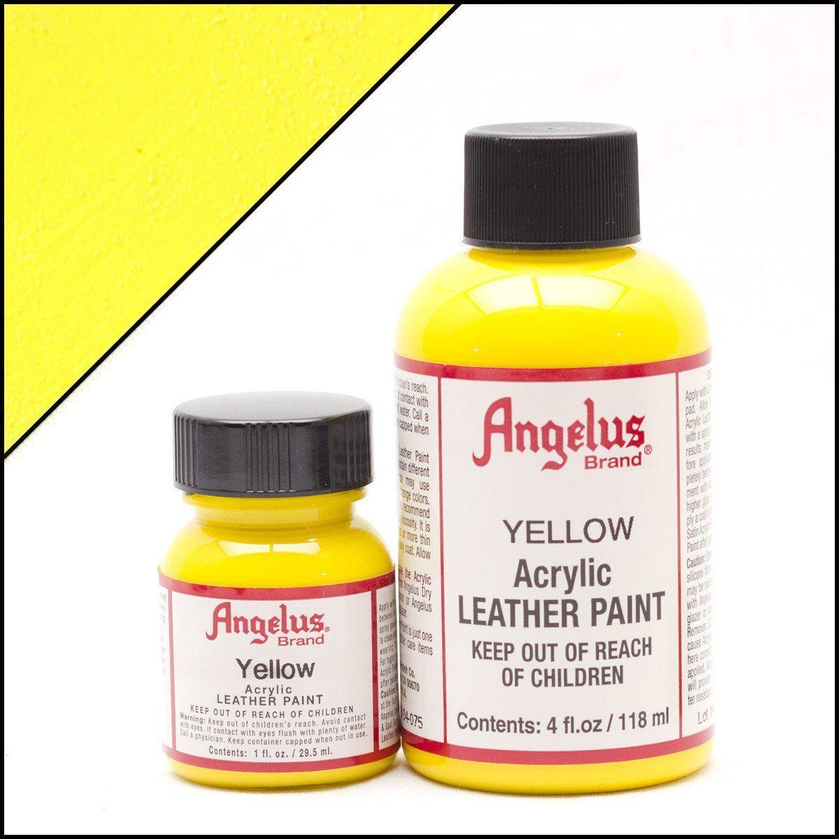 Yellow-Angelus-Leather Paint-TorontoCollective